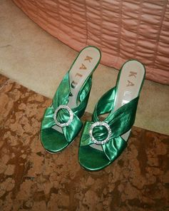 The Emerald City's version of ruby slippers