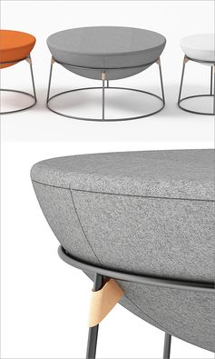 A Design Award Winner - Drum Pouf by Serge Atallah #ADesignAward