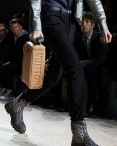 A bag from the Louis Vuitton Fall-Winter 2018 Fashion Show by Kim Jones. See all the looks now at louisvuitton.com.
