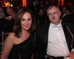 Rosanna Scotto - Left. The American Australian Association Benefit Dinner.