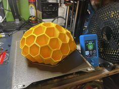 Mango Yellow PETG organizer printed by Rob Dom - Geek Toybox #practical #toysandgames #prusamini #prusai3