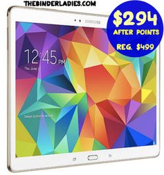 "*HOT!* Sears.com: Samsung Galaxy Tablet (16 GB 10.5"")  = $294.99 + FREE Shipping After $205 Back in Points!  Regularly $499.99!"