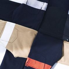 HELMUT LANG lined pants produced in 1997