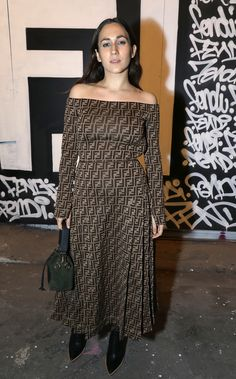 Delfina Delettrez Fendi at the FF Reloaded Experience in London.