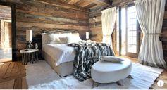 Laissez-vous inspirer par ce chalet blanc pour profiter en famille d'un intérieur confortable et chaleureux !