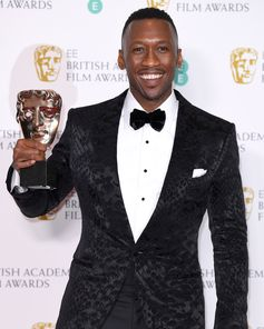 Mahershala Ali, winner of 'Best Supporting Actor' wore TOM FORD to the 72nd British Academy Film Awards in London.  #TOMFORD #BAFTAs