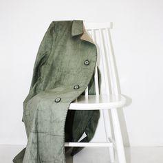 00s Maison Martin Margiela artisanal painted coat