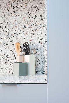 Kraal architecten | Inspiratie | Keuken | Trend | Terrazzo | Pastel | Via la fabrika studio