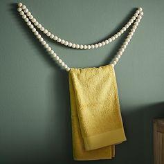 Création porte serviette #DIY #zodio #création #tendance #décoration