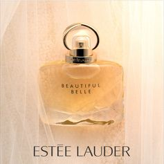 Behind every modern bride, there's a sparkling and unexpected fragrance. Rewrite the rules of love with Estée Lauder's newest scent, Beautiful Belle. Available now.