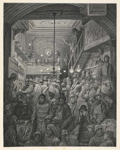London, a pilgrimage: Gustave Doré's historic visions of the capital city | Cities | The Guardian