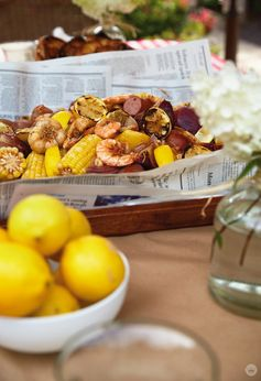 SHRIMP BOIL: AN EASY, CASUAL GATHERING - Think.Make.Share.