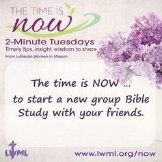 We make it easy to start a new group Bible Study - simple choose a free Bible Studies from our huge collection, print and start studying! http://www.lwml.org/bible-studies-quarterly