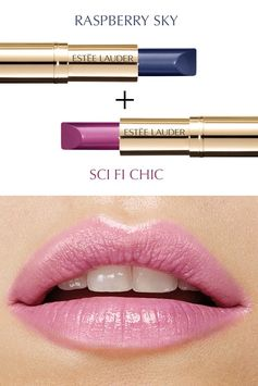 Light up the night with Pure Color Love in Raspberry Sky and Sci Fi Chic.
