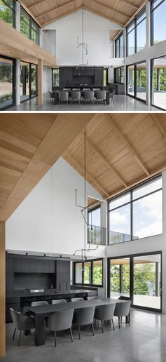 A Modern Barnhouse Design That Was Inspired By Local Farm Buildings