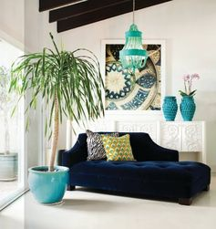 Emérita Desastre: Colores que decoran: Obsesión aguamarina