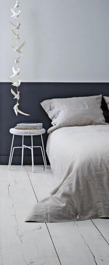 Mur Chambre à coucher bicolore noir et blanc Pinterest Nat et nature