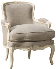 Bergere Lourmarin upholstered