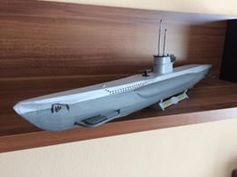 U-206 submarine by Michal Pertla Pertlíček #prototyping #practical #toysandgames