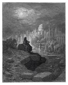 The New Zealander: 1872, Gustave Doré