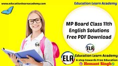 MP Board Class 11th English A Voyage Solutions Chapter 13 Peace (Swami Vivekanand) » Education Learn Academy