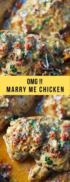 OMG !! Marry Me Chicken #chicken #dinner – Healthy Recipes