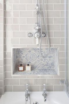 Cool Small Bathroom Remodel Ideas38 #bathroom #decor #remodel #ideas #pattern