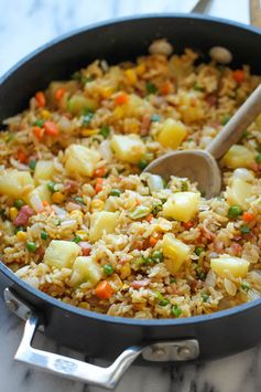 Pineapple Fried Rice - Ready in 30 minutes.
