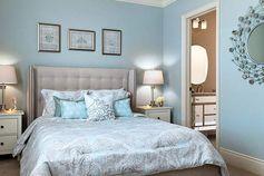 """20 изысканных спален в стиле """"новая классика"""""""