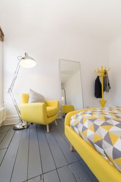 It will always be a sunshine morning in this bedroom from @madedotcom