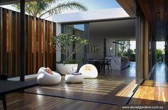 Landscape Design Coogee | Secret Gardens of Sydney. Central courtyard - amazing space