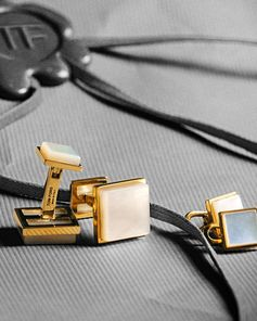 Finish your evening look with a pair of Cufflinks. #TOMFORD #TFGIFTS