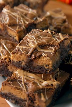 Reese's Stuffed Brownies
