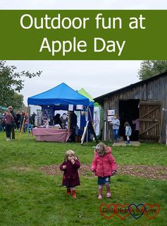 Outdoor fun at Apple Day - Little Hearts, Big Love