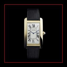 Tank Americaine was a subtle adaptation of the Tank to appeal to newly developed tastes for bigger and bolder watches.