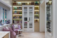 Shelving Idea – Wrap Shelves Around A Doorway
