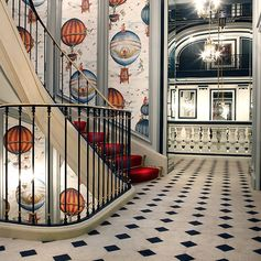 A beautiful hotel in the heart of the City of Light…