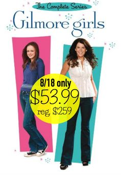 Amazon: Today Only! Gilmore Girls Complete Series on DVD = $53.99 + FREE Shipping! Regularly $259!