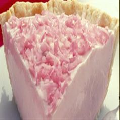 ! Pink Lemonade Pie  Ingredients   1 (8 oz.) package cream cheese, softened  1 (14 oz.) can Eagle Brand® Sweetened Condensed Milk  1 (6 oz.) can frozen pink lemonade from concentrate, thawed  Few drops red food coloring  1 (4 oz.) container frozen whipped topping, thawed  1 (8 or 9-inch)  baked pie crust