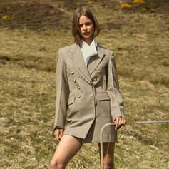 Traditional tailoring is amped up with statement Stella silhouettes, a stand-out from our Winter collection.