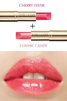 Mix it up with Pure Color Love in Cherry Fever and Cosmic Candy.