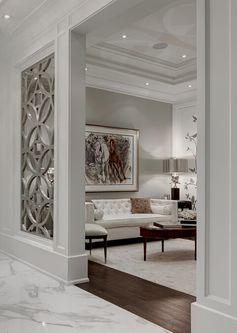 La décoration se fait jusque dans les murs. #décoration #luxe #intérieur #luxueux
