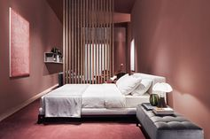 Meridiani at Maison & Objet, January 2015: an interior design project in which color is the absolute protagonist