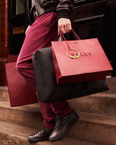 Coordinating with your Christmas shopping ☝️   Bags (and bags) of Bally [Part 1]  Give the #GiftofBally