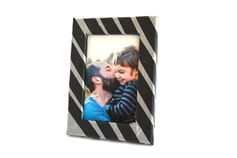 If duct tape is Dad's go-to fix-it tool, then he will love this frame for Father's Day, especially with a favorite photo inside. You can print your photo on the KODAK Picture Kiosk or with the My KODAK MOMENTS app. #fathersday