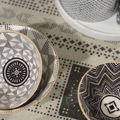 Avec sa ligne appelée Eclectic, Jardin d'Ulysse nous propose ces bols aux motifs ethniques