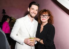 #BenBarnes and #SusanSarandon on the scene for the #UomoSalvatoreFerragamo launch party in NYC.