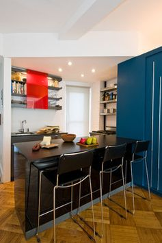 small modern kitchenette