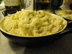Faithfulness Farm: Olive Oil, Garlic & Romano Cheese Mashed Cauliflower
