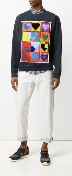JW Anderson Hearts Sweatshirt